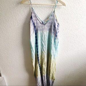 Lovestitch Tie Dye Boho Maxi Dress